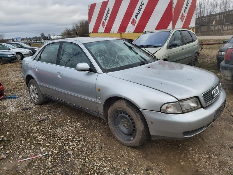 Naudotos automobilio dalys Audi A4 1998 2.5 Mechaninė Sedanas 4/5 d. Sidabrine 2020-2-27