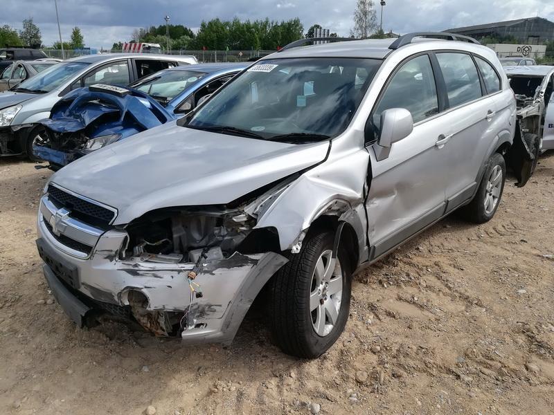 Naudotos automobiliu dallys Foto 4 Chevrolet CAPTIVA 2007 2.0 Mechaninė Visureigis 4/5 d. Sidabrine 2019-7-02 A4586