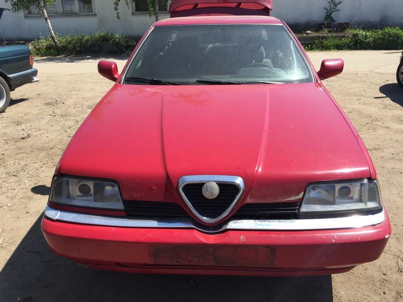 Naudotos automobiliu dallys Foto 3 Alfa-Romeo 164 1995 2.5 Mechaninė Sedanas 4/5 d. Raudona 2018-5-28 A3794