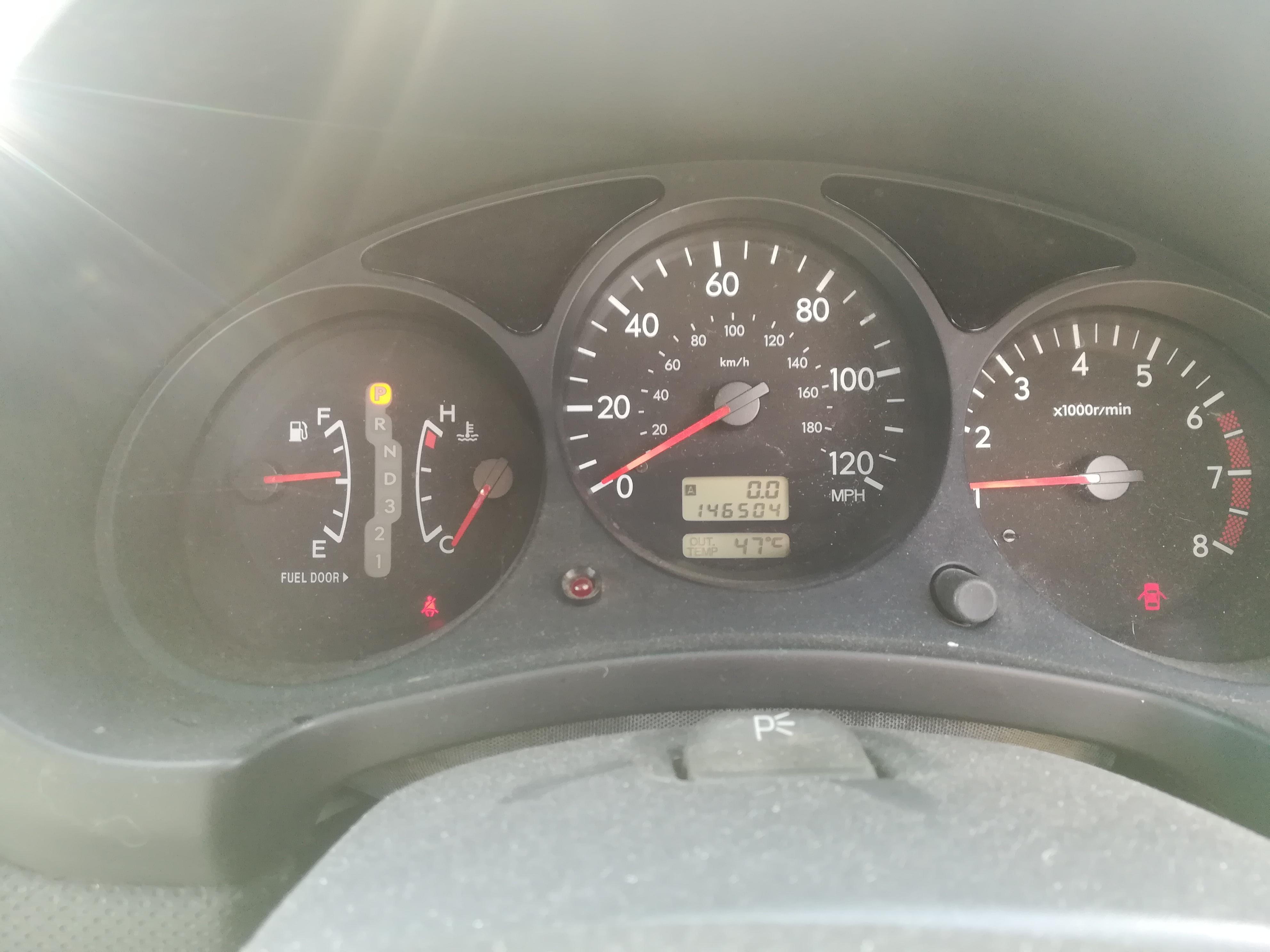 Naudotos automobiliu dallys Foto 9 Subaru FORESTER 2003 2.0 Automatinė Visureigis 4/5 d. Sidabrine 2019-6-27 A4584