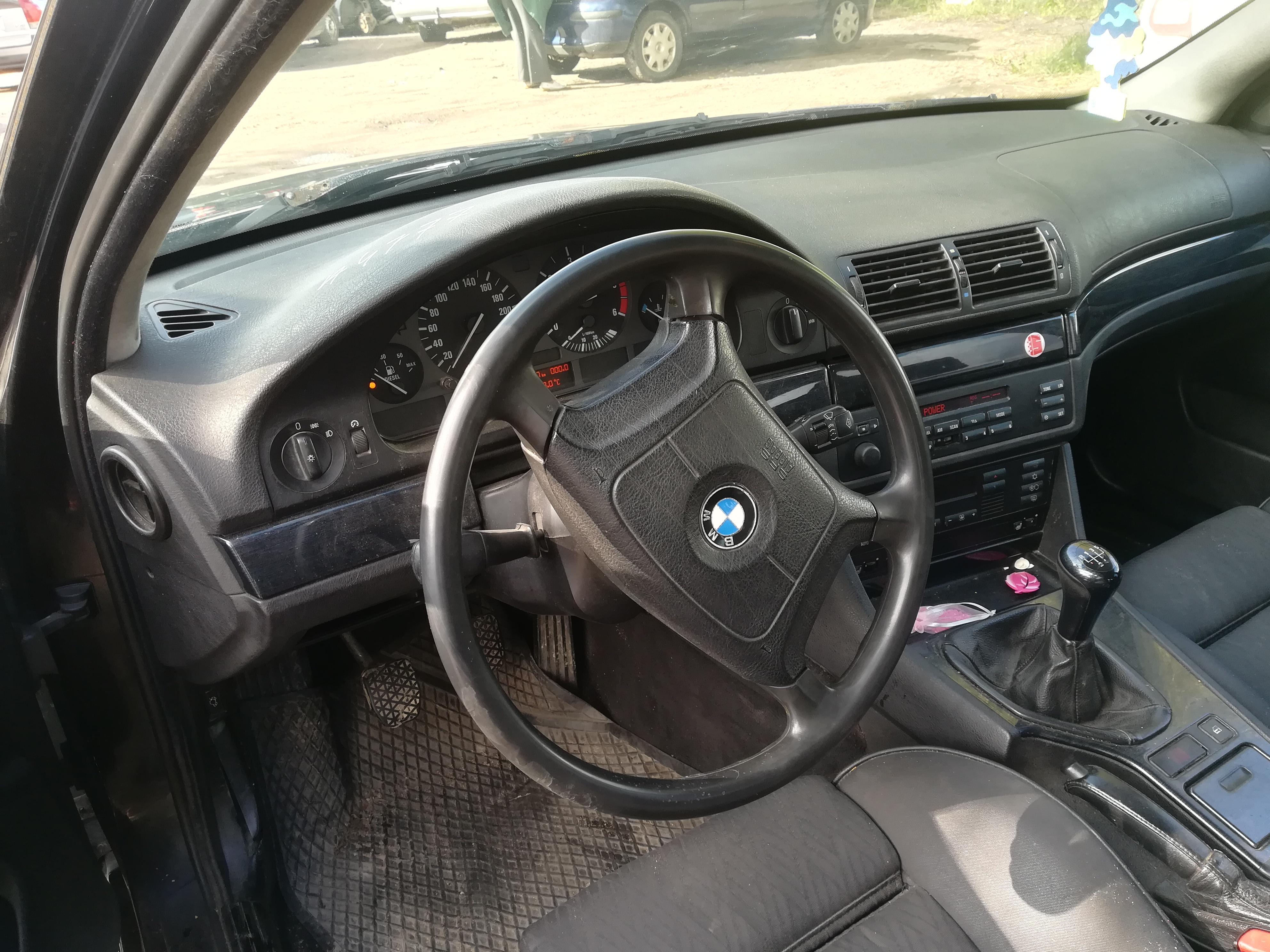 Naudotos automobilio dalys BMW 5-SERIES 1997 2.5 Mechaninė Universalas 4/5 d. Juoda 2019-9-20