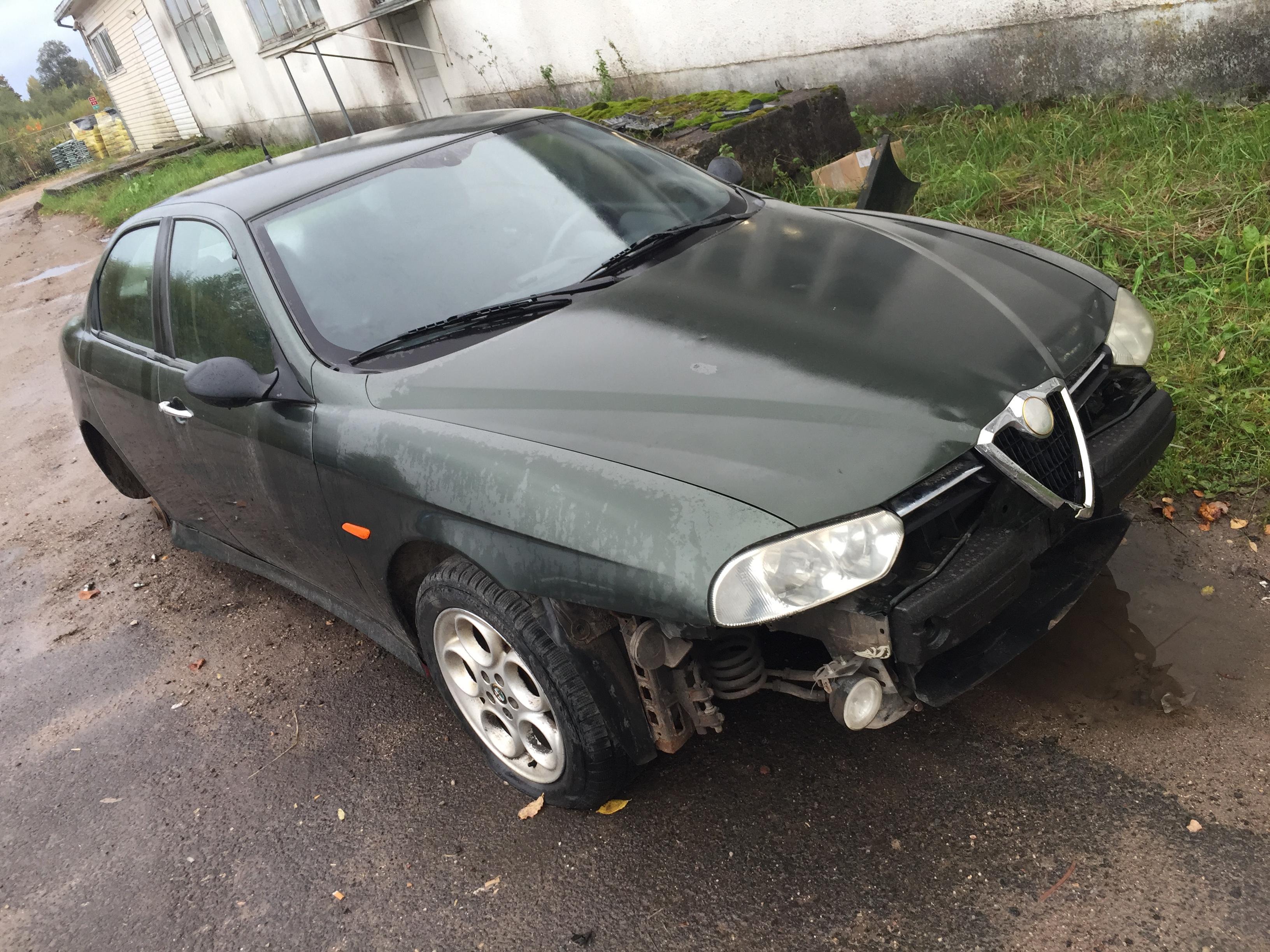 Used Car Parts Alfa-Romeo 156 1997 1.8 Mechanical Sedan 4/5 d. Green 2017-10-04
