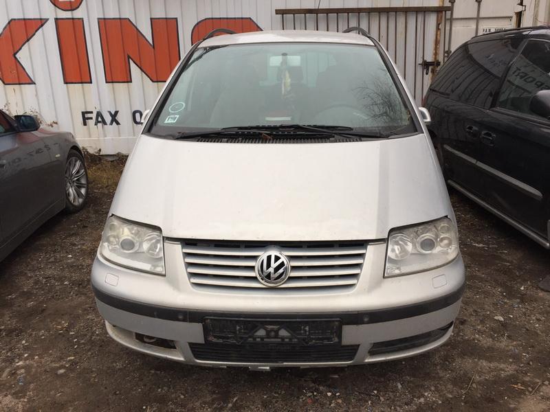 Naudotos automobilio dalys Volkswagen SHARAN 2000 1.9 Mechaninė Vienatūris 4/5 d. Sidabrine 2018-11-12
