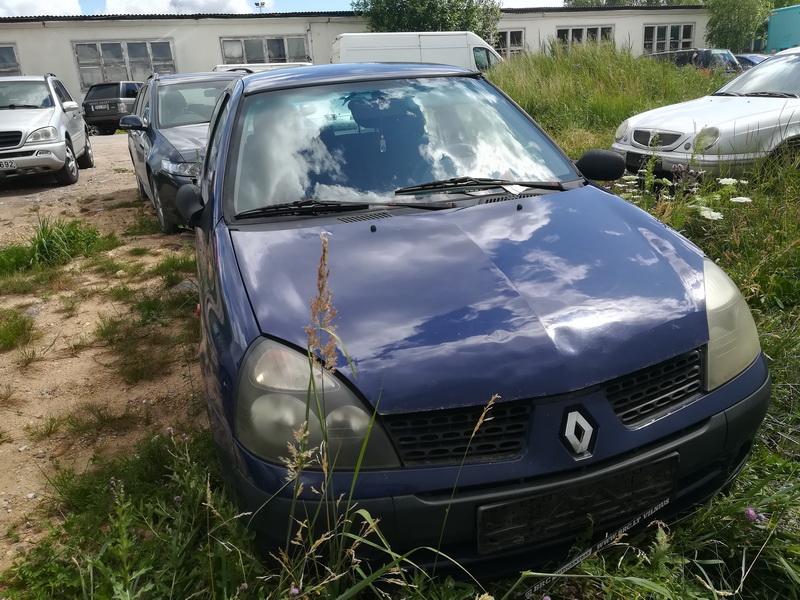 Naudotos automobilio dalys Renault CLIO 2002 1.2 Mechaninė Hečbekas 2/3 d. Melyna 2019-7-03