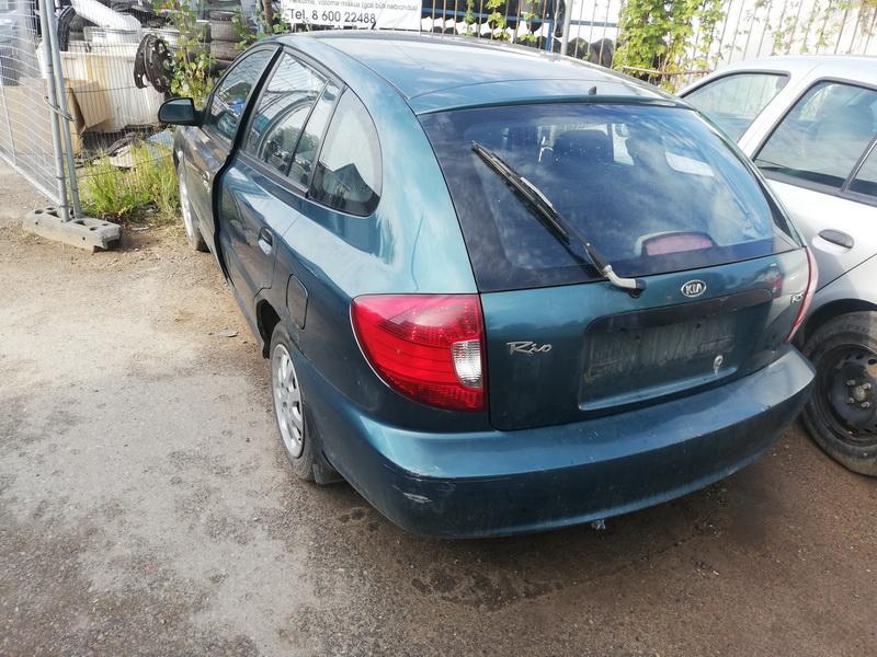 Naudotos automobiliu dallys Foto 5 Kia RIO 2003 1.3 Mechaninė Hečbekas 4/5 d. Melyna 2019-9-09 A4738