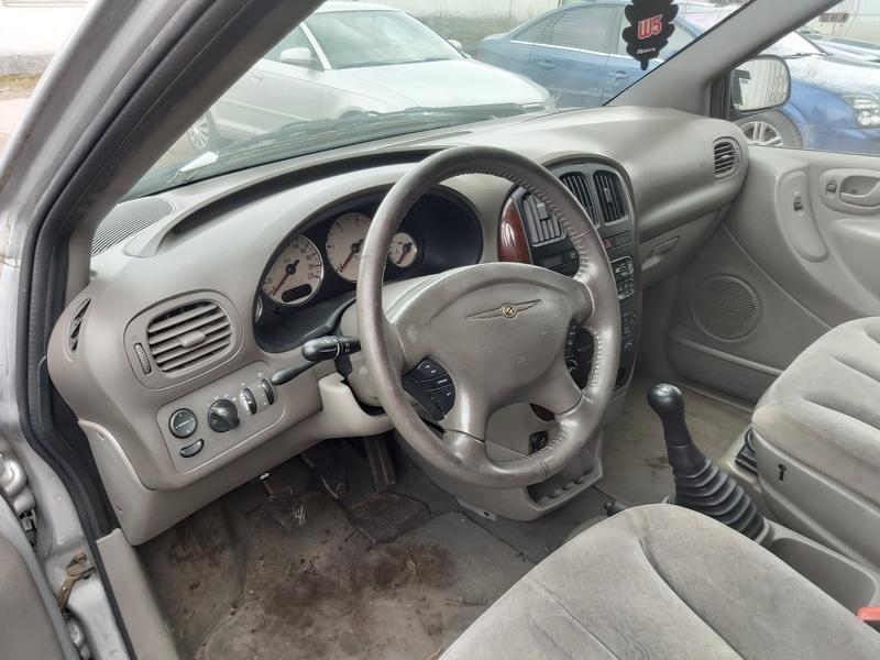 Naudotos automobilio dalys Chrysler VOYAGER 2003 2.5 Mechaninė Vienatūris 4/5 d. Sidabrine 2020-3-18