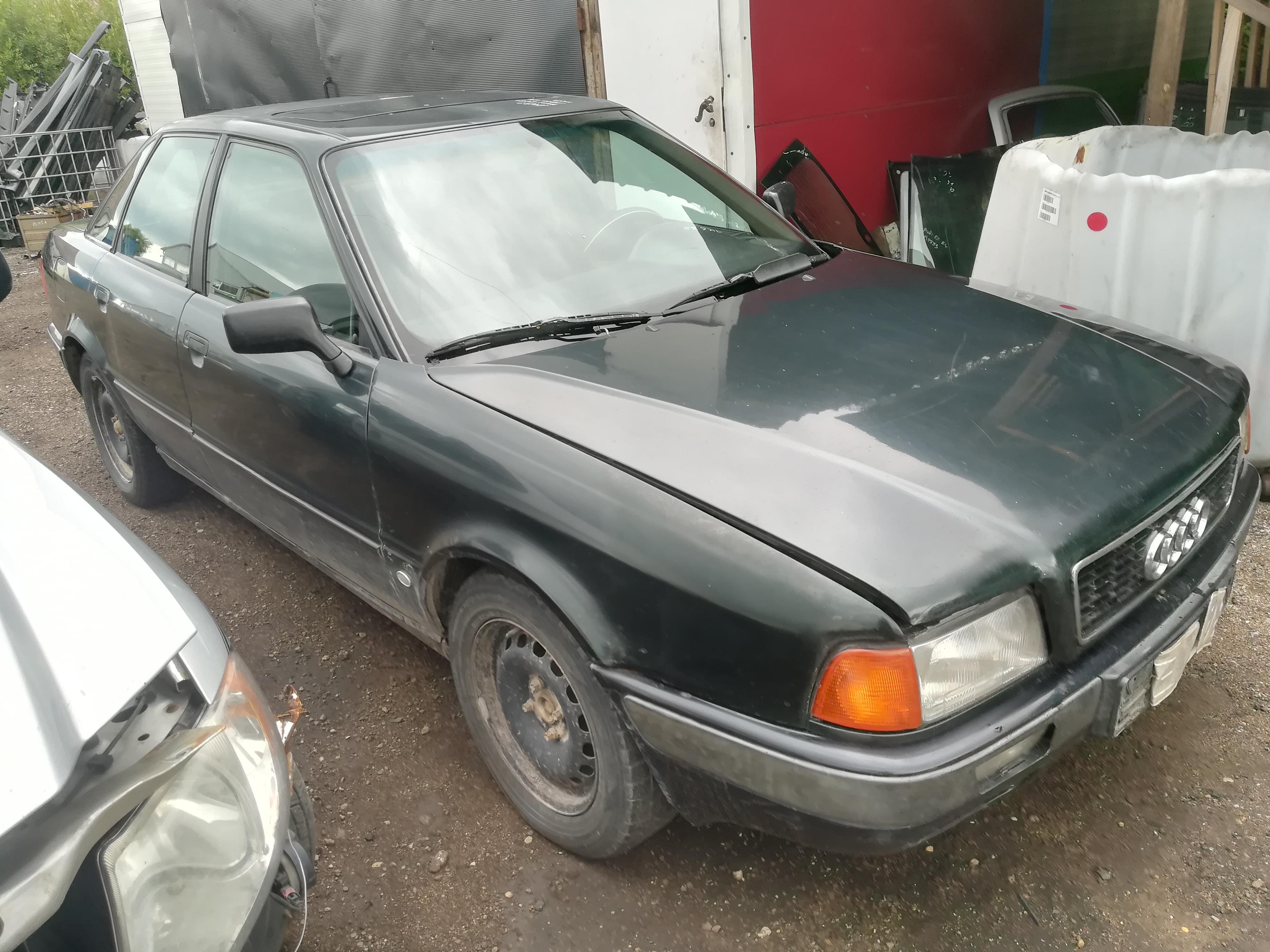 Naudotos automobiliu dallys Foto 3 Audi 80 1992 1.9 Mechaninė Sedanas 4/5 d. Zalia 2019-7-16 A4632
