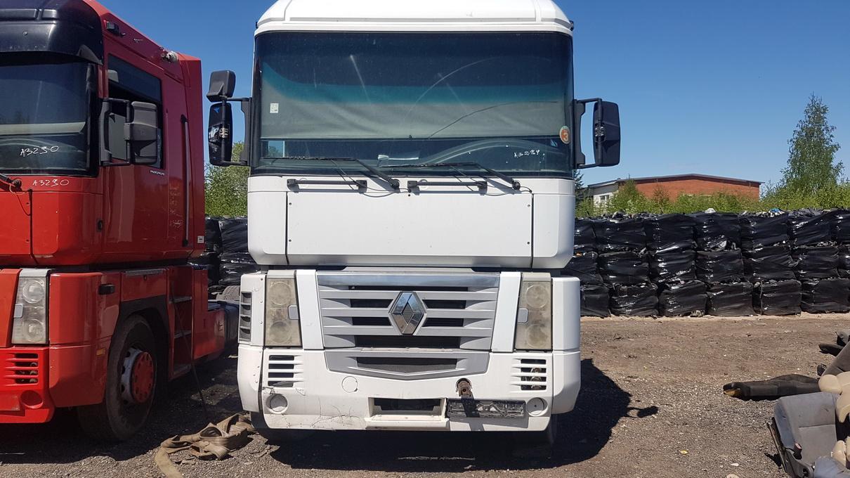 Naudotos automobilio dalys Truck - Renault MAGNUM 2002 12.0 Mechaninė Vilkikas 2/3 d. Balta 2017-5-23