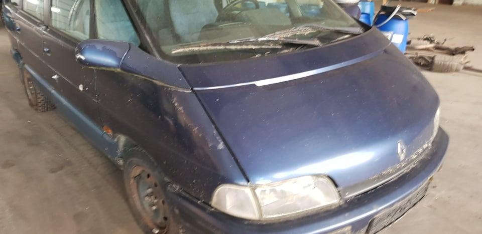 Naudotos automobilio dalys Renault ESPACE 1993 2.1 Mechaninė Vienatūris 4/5 d. Melyna 2020-6-19