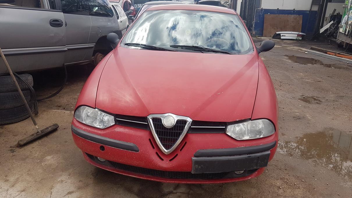 Naudotos automobiliu dallys Foto 2 Alfa-Romeo 156 1998 2.0 Mechaninė Sedanas 4/5 d. Raudona 2017-6-13 A3329