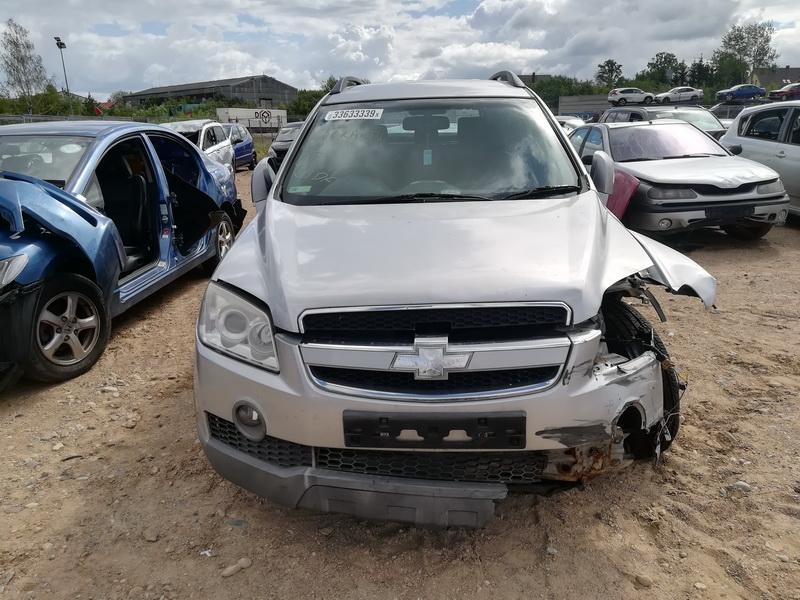Naudotos automobilio dalys Chevrolet CAPTIVA 2007 2.0 Mechaninė Visureigis 4/5 d. Sidabrine 2019-7-02
