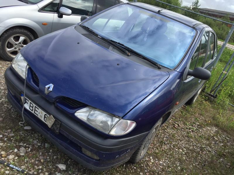 Naudotos automobilio dalys Renault SCENIC 1998 1.9 Mechaninė Vienatūris 4/5 d. Melyna 2018-7-21