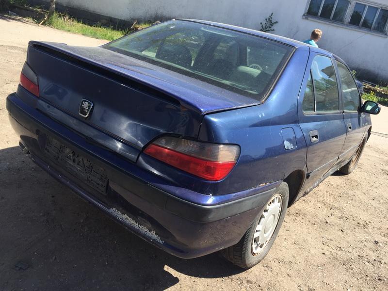 Naudotos automobilio dalys Peugeot 406 1996 1.9 Mechaninė Sedanas 4/5 d. Melyna 2018-5-21