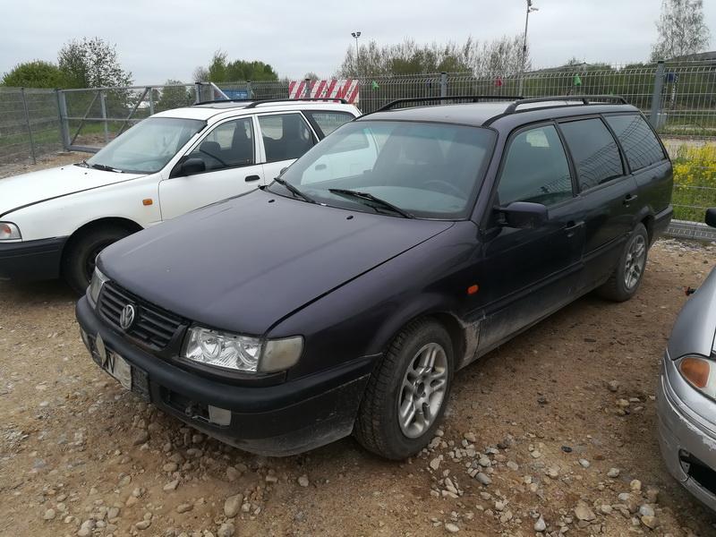 Подержанные Автозапчасти Foto 4 Volkswagen PASSAT 1994 1.9 машиностроение универсал 4/5 d. фиолетовый 2019-5-14 A4492