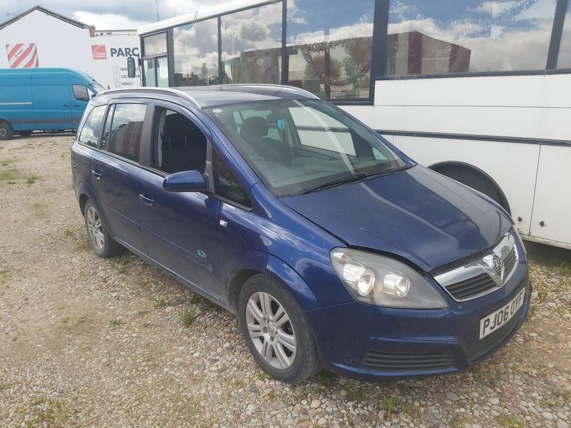 Подержанные Автозапчасти Opel ZAFIRA 2006 1.9 машиностроение минивэн 4/5 d. синий 2020-7-09
