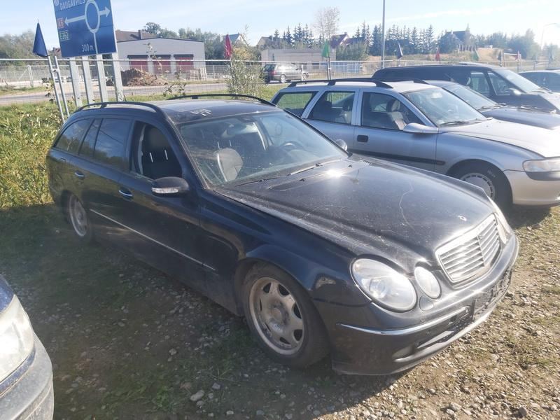 Naudotos automobilio dalys Mercedes-Benz E-CLASS 2005 2.2 Automatinė Universalas 4/5 d. Juoda 2020-9-29