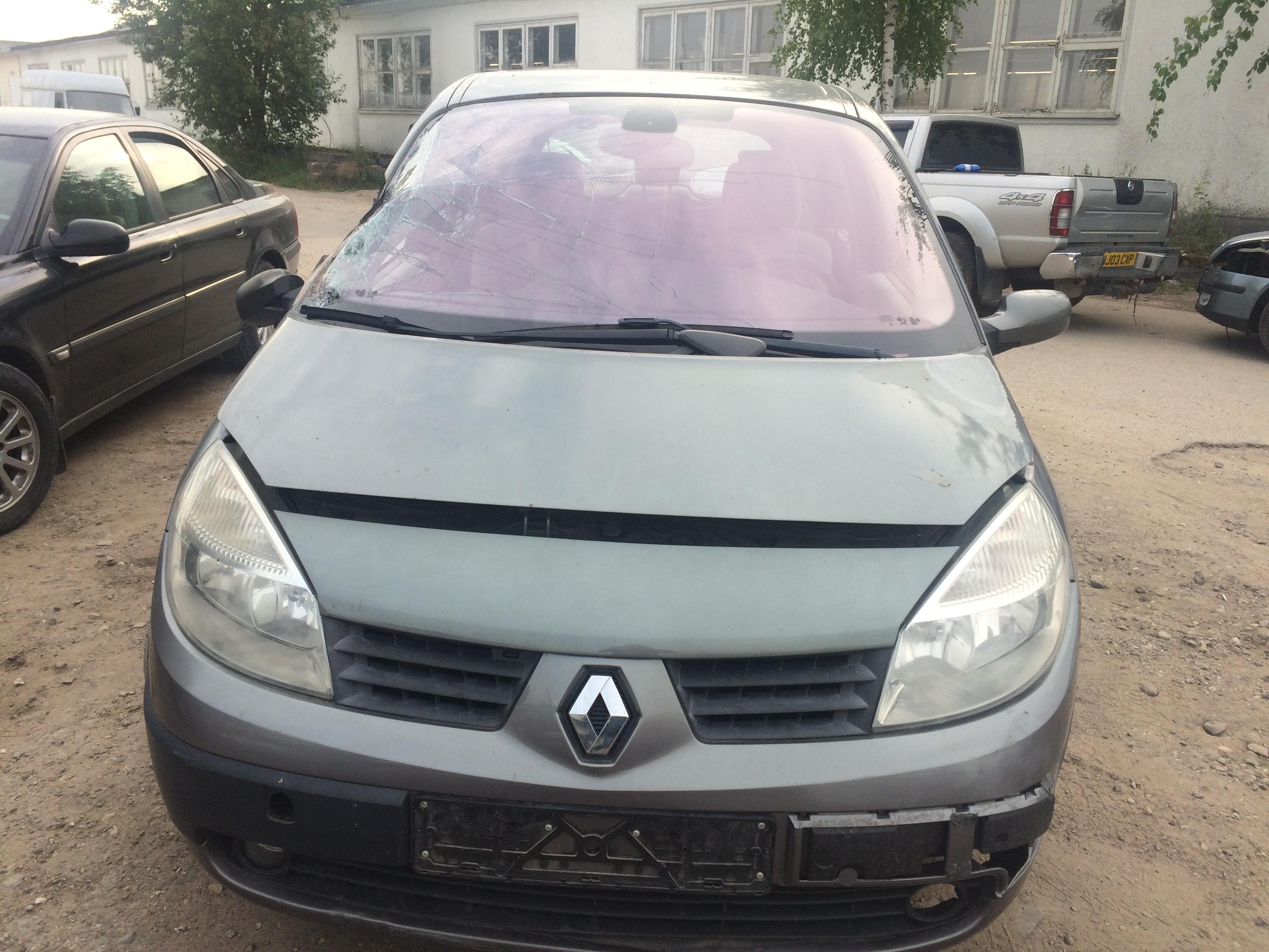 Naudotos automobilio dalys Renault SCENIC 2004 1.9 Mechaninė Vienatūris 4/5 d. Pilka 2018-8-02