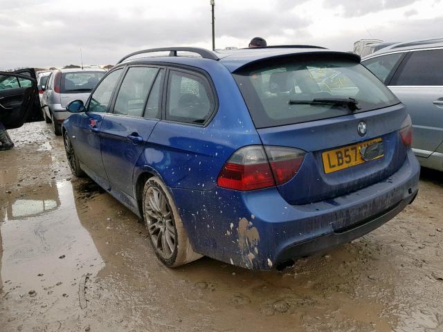 Naudotos automobiliu dallys Foto 4 BMW 3-SERIES 2008 2.0 Mechaninė Universalas 4/5 d. Melyna 2019-12-13 A4969