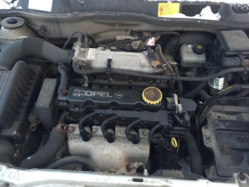 Naudotos automobiliu dallys Foto 2 Opel ASTRA 2001 1.6 Mechaninė Hečbekas 2/3 d. Sidabrine 2019-1-08 A4249