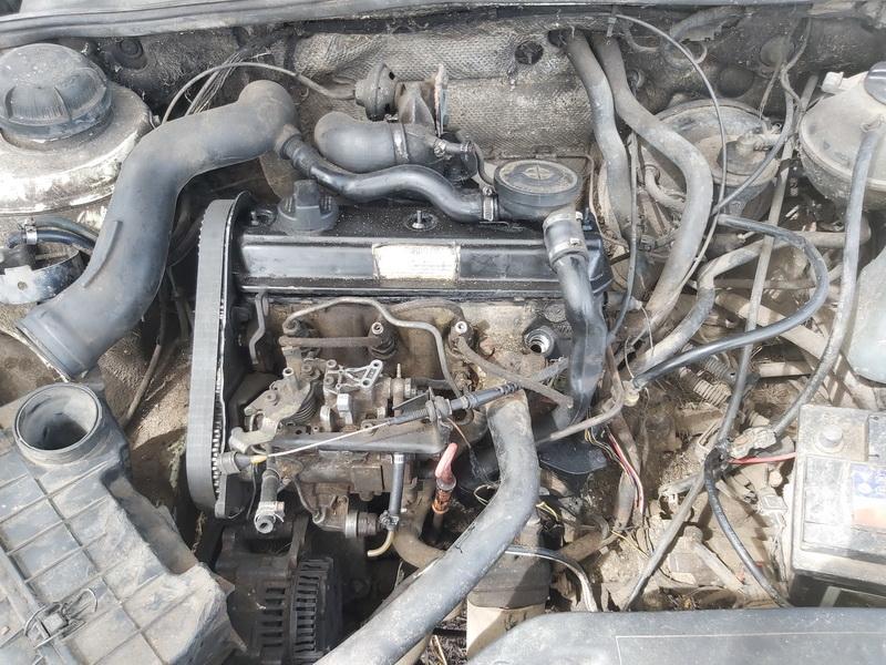 Naudotos automobiliu dallys Foto 2 Volkswagen PASSAT 1993 1.9 Mechaninė Universalas 4/5 d. Balta 2020-5-18 A5286