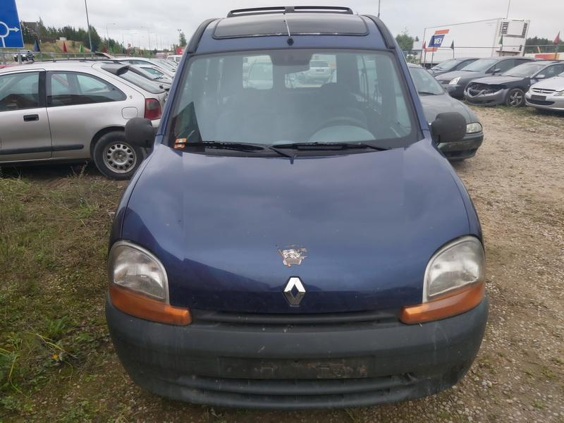 Naudotos automobiliu dallys Foto 3 Renault KANGOO 2001 1.9 Mechaninė Komercinis 4/5 d. Melyna 2020-9-14 A5662