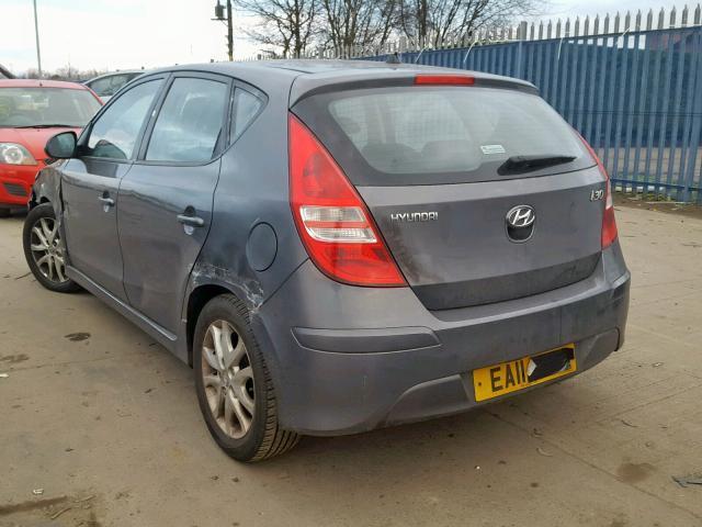 Naudotos automobiliu dallys Foto 2 Hyundai I30 2011 1.4 Mechaninė Hečbekas 4/5 d. Pilka 2019-2-06 A4299