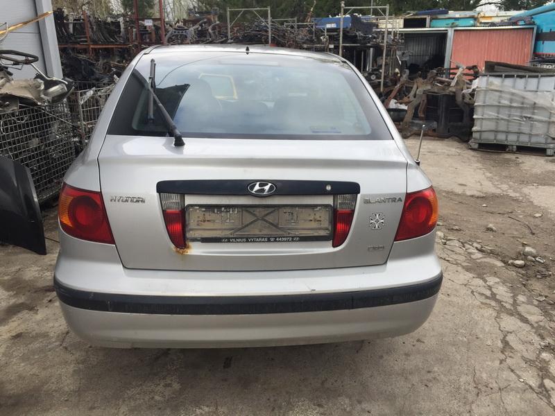 Naudotos automobilio dalys Hyundai ELANTRA 2001 2.0 Mechaninė Hečbekas 4/5 d. Sidabrine 2018-4-26