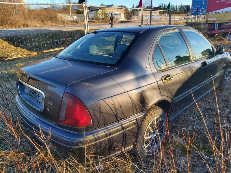 Naudotos automobiliu dallys Foto 8 Rover 400-SERIES 1998 2.0 Mechaninė Sedanas 4/5 d. Juoda 2020-2-24 A5090