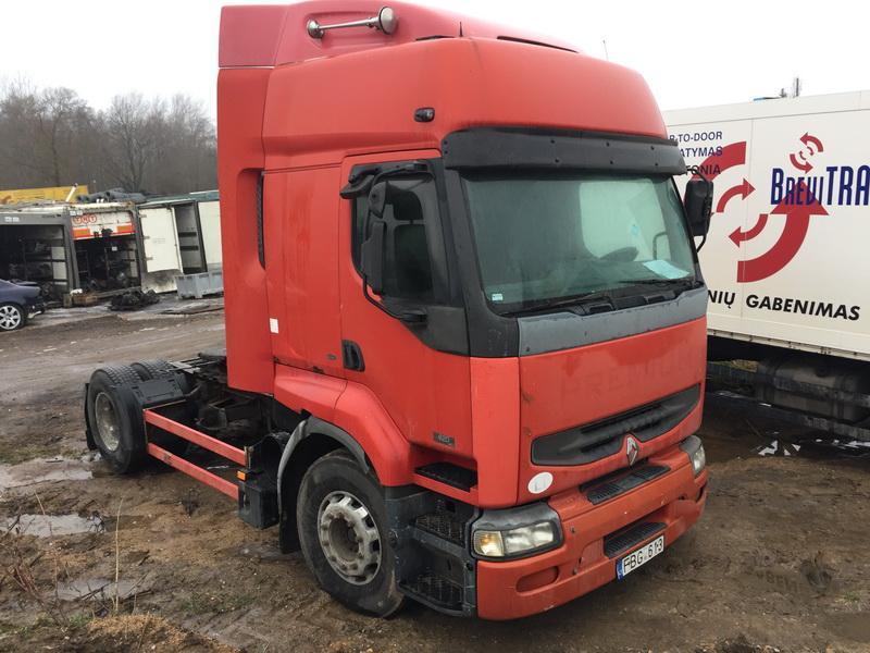 Подержанные Автозапчасти Foto 8 Truck - Renault PREMIUM 2001 11.1 машиностроение Vilkikas 2/3 d. красный 2018-12-11 A4230