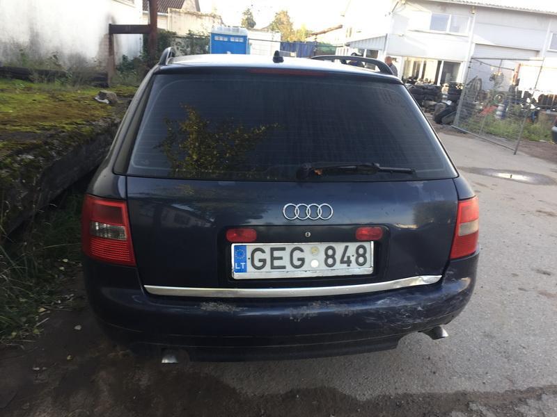 Naudotos automobilio dalys Audi A6 2001 2.5 Mechaninė Universalas 4/5 d. Melyna 2018-9-26