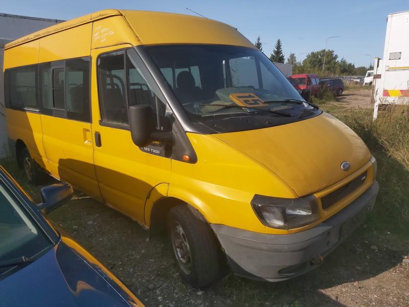 Naudotos automobilio dalys Ford TRANSIT 2004 2.0 Mechaninė Krovininis mikroautobusas 2/3 d. Geltona 2020-9-18