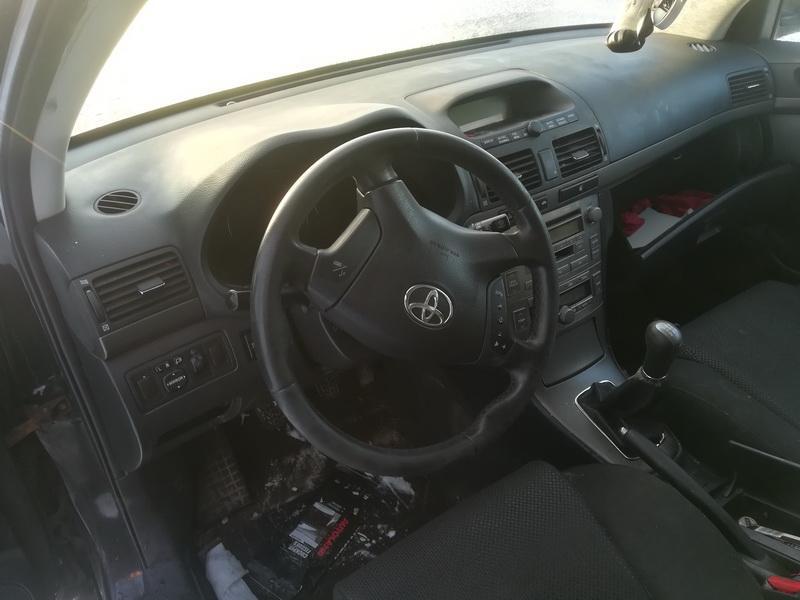 Naudotos automobilio dalys Toyota AVENSIS 2004 2.0 Mechaninė Universalas 4/5 d. Juoda 2019-12-03