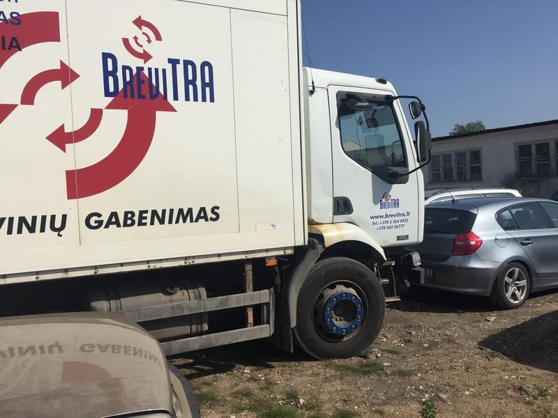 Naudotos automobiliu dallys Foto 10 Truck - Renault MIDLUM 2002 6.2 Mechaninė Kita 2/3 d. Balta 2018-9-06 A4071