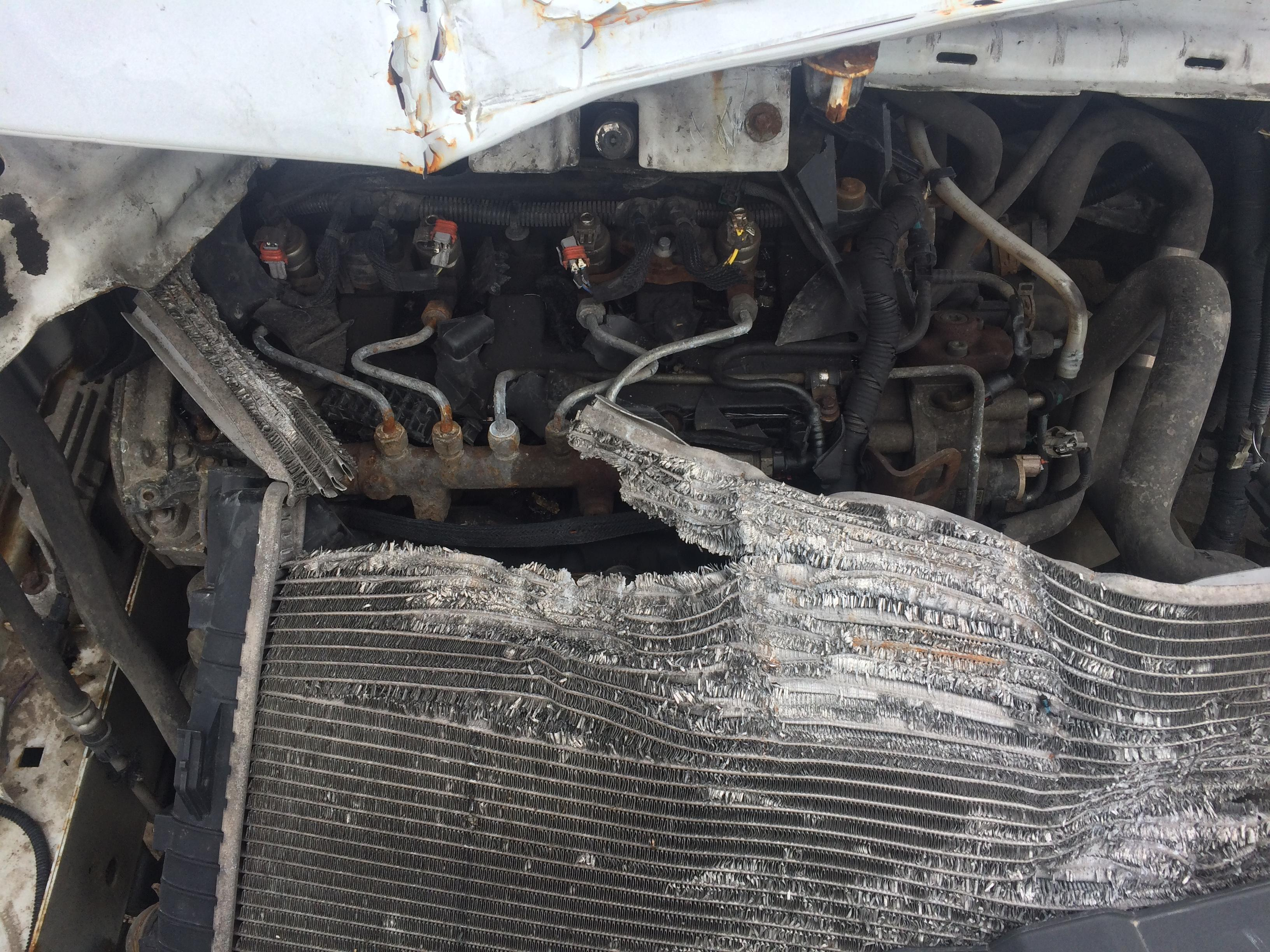 Naudotos automobiliu dallys Foto 2 Ford TRANSIT 2008 2.2 Mechaninė Krovininis mikroautobusas 2/3 d. Balta 2018-7-10 A3925