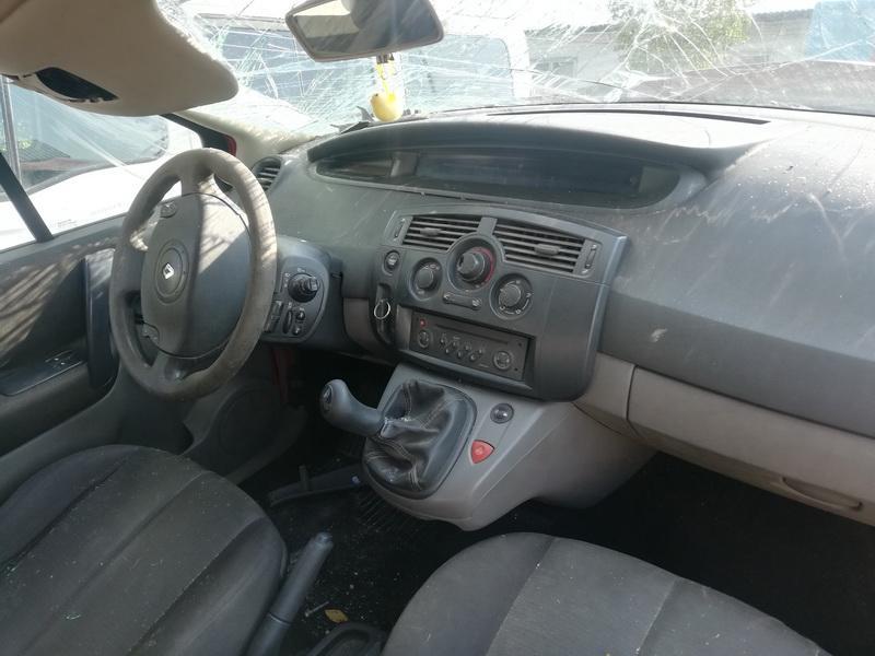Naudotos automobiliu dallys Foto 4 Renault SCENIC 2004 1.5 Mechaninė Vienatūris 4/5 d. Raudona 2019-9-07 A4734
