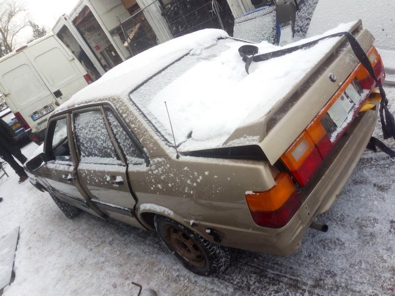Подержанные Автозапчасти Audi 80 1985 1.8 машиностроение седан 4/5 d. Сэнди 2018-2-14