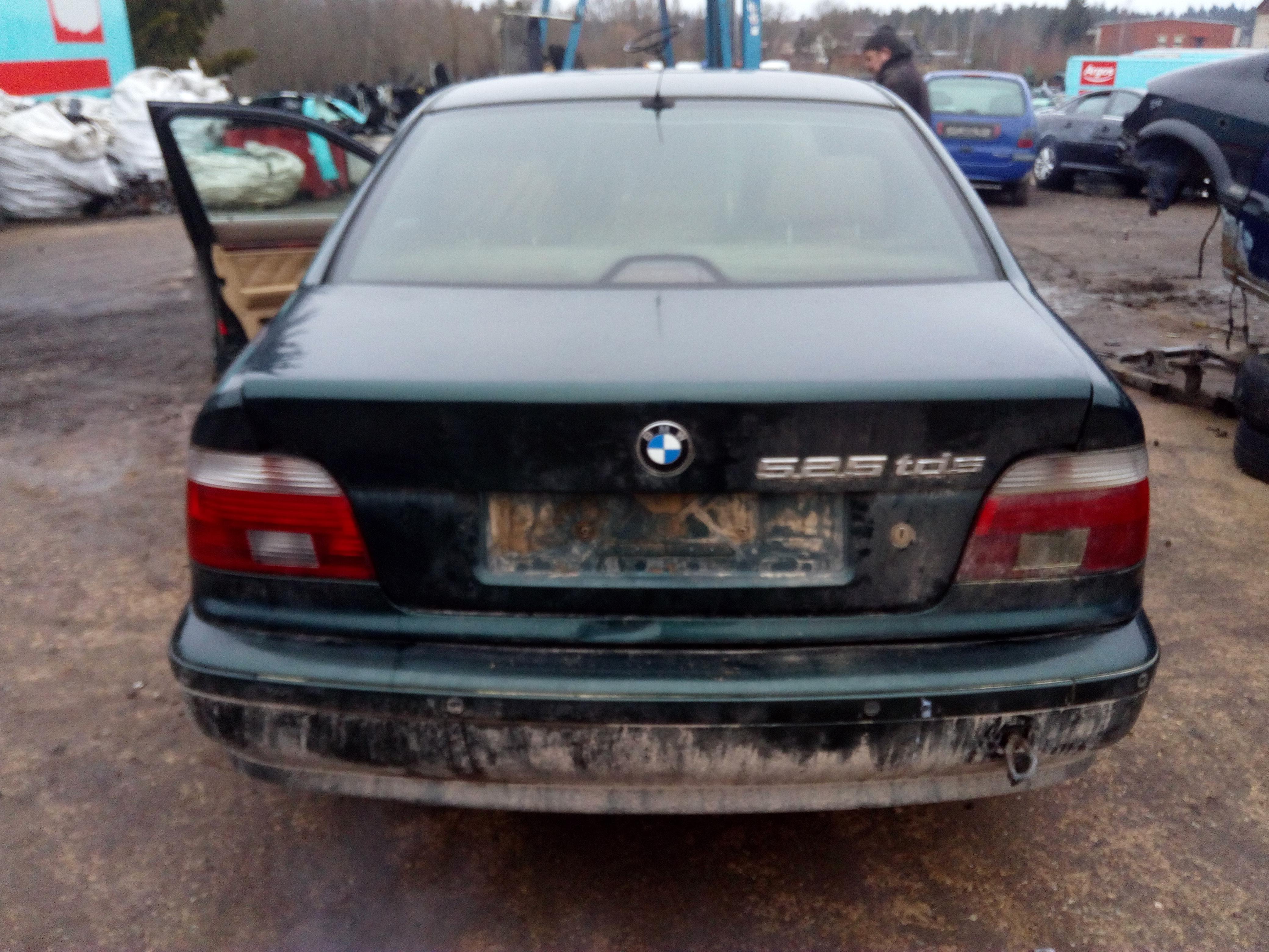 Naudotos automobiliu dallys Foto 5 BMW 5-SERIES 1997 2.5 Mechaninė Sedanas 4/5 d. Zalia 2018-1-03 A3578