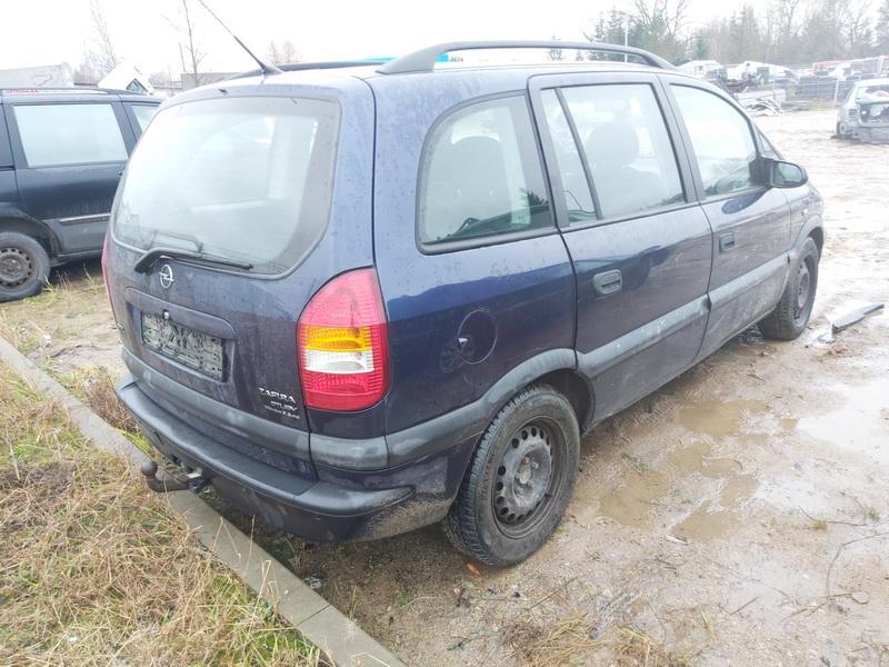 Подержанные Автозапчасти Foto 10 Opel ZAFIRA 2000 2.0 машиностроение минивэн 4/5 d. синий 2020-11-18 A5831