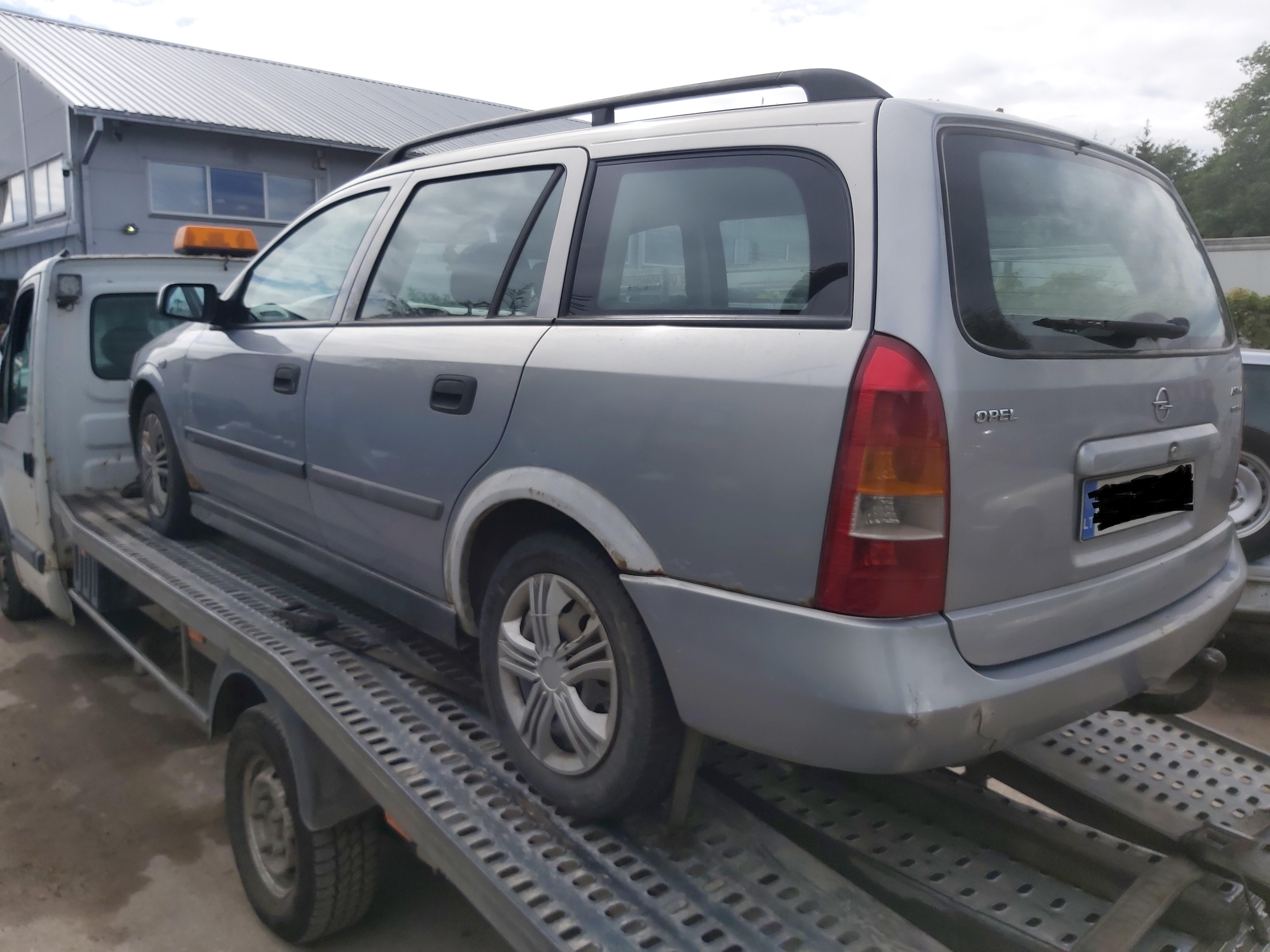 Подержанные Автозапчасти Foto 5 Opel ASTRA 2000 2.0 машиностроение универсал 4/5 d. Серый 2020-7-30 A5479