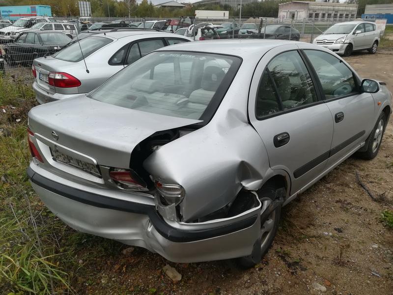 Used Car Parts Foto 8 Nissan ALMERA 2002 2.2 Mechanical Sedan 4/5 d. Grey 2019-10-05 A4810