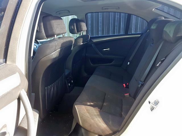Naudotos automobilio dalys BMW 5-SERIES 2008 2.0 Mechaninė Sedanas 4/5 d. Balta 2020-1-20