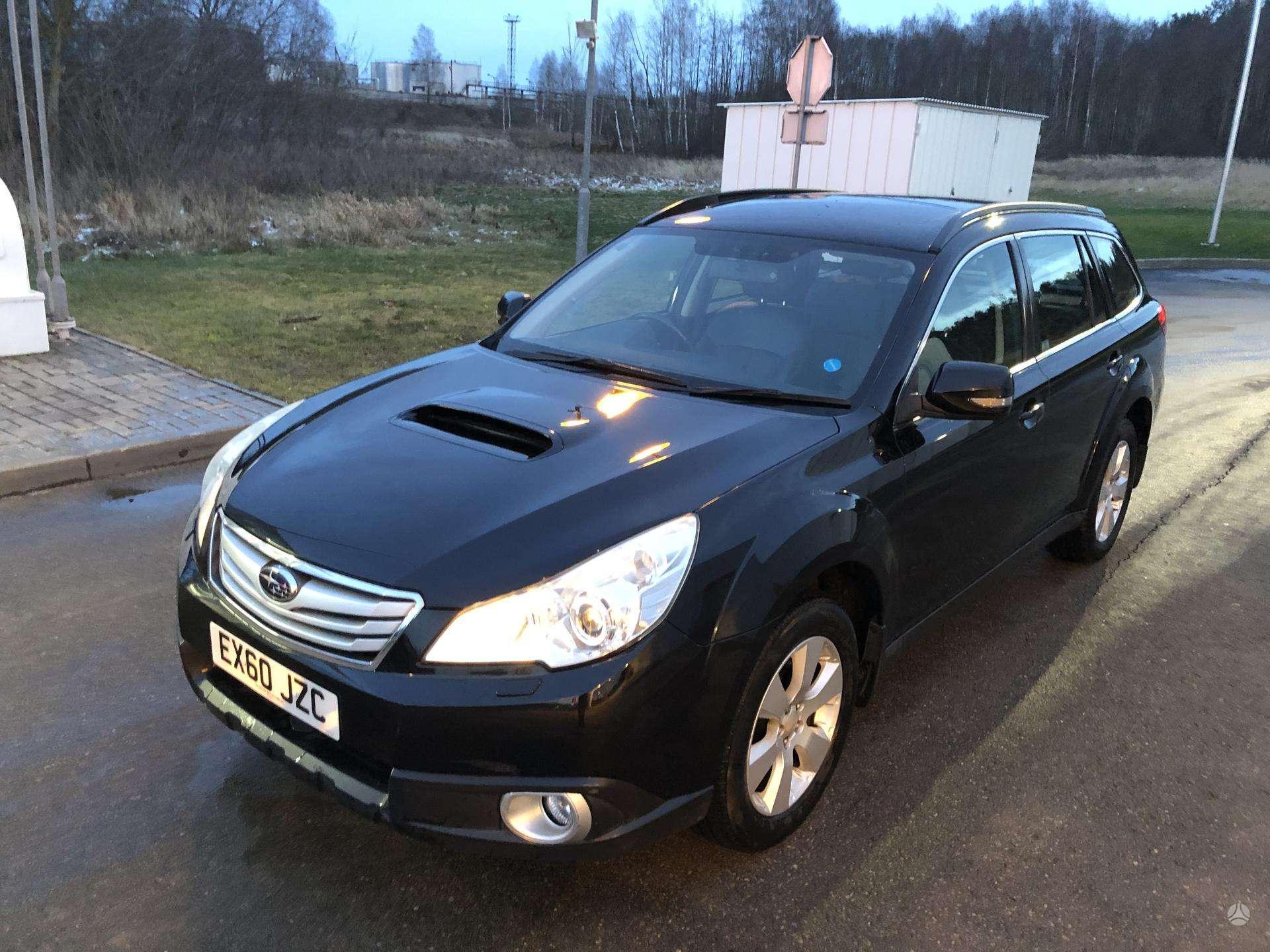 Naudotos automobiliu dallys Foto 8 Subaru OUTBACK 2011 2.0 Mechaninė Universalas 4/5 d. Juoda 2020-3-19 A5144