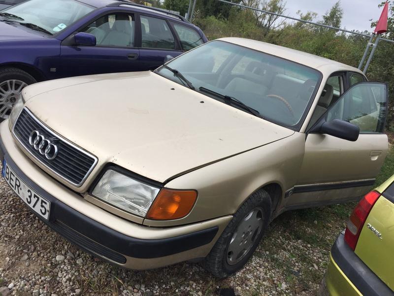 Naudotos automobiliu dallys Foto 4 Audi 100 1991 2.3 Automatinė Sedanas 4/5 d. Geltona 2018-9-17 A4082