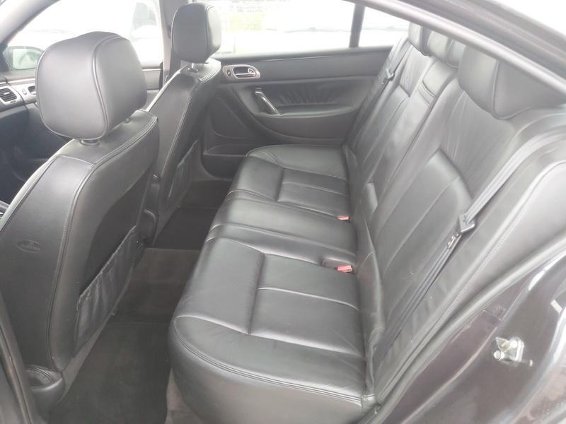 Naudotos automobiliu dallys Foto 7 Peugeot 607 2007 2.7 Automatinė Sedanas 4/5 d. Juoda 2020-10-15 A5760