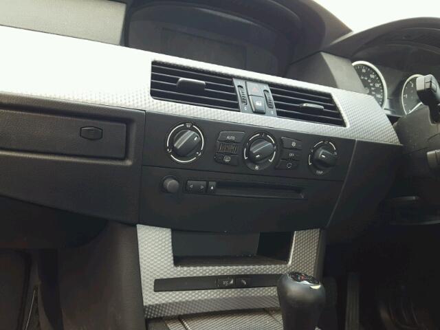 Naudotos automobiliu dallys Foto 9 BMW 5-SERIES 2006 3.0 Mechaninė Sedanas 4/5 d. Juoda 2018-8-12 A4037