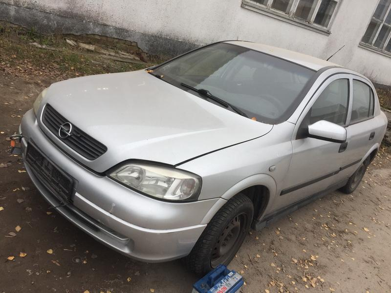Used Car Parts Foto 1 Opel ASTRA 2002 1.7 Mechanical Hatchback 4/5 d. Silver 2018-11-07 A4174