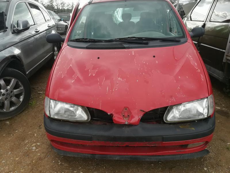 Naudotos automobilio dalys Renault SCENIC 1999 1.6 Mechaninė Vienatūris 4/5 d. Raudona 2019-8-02