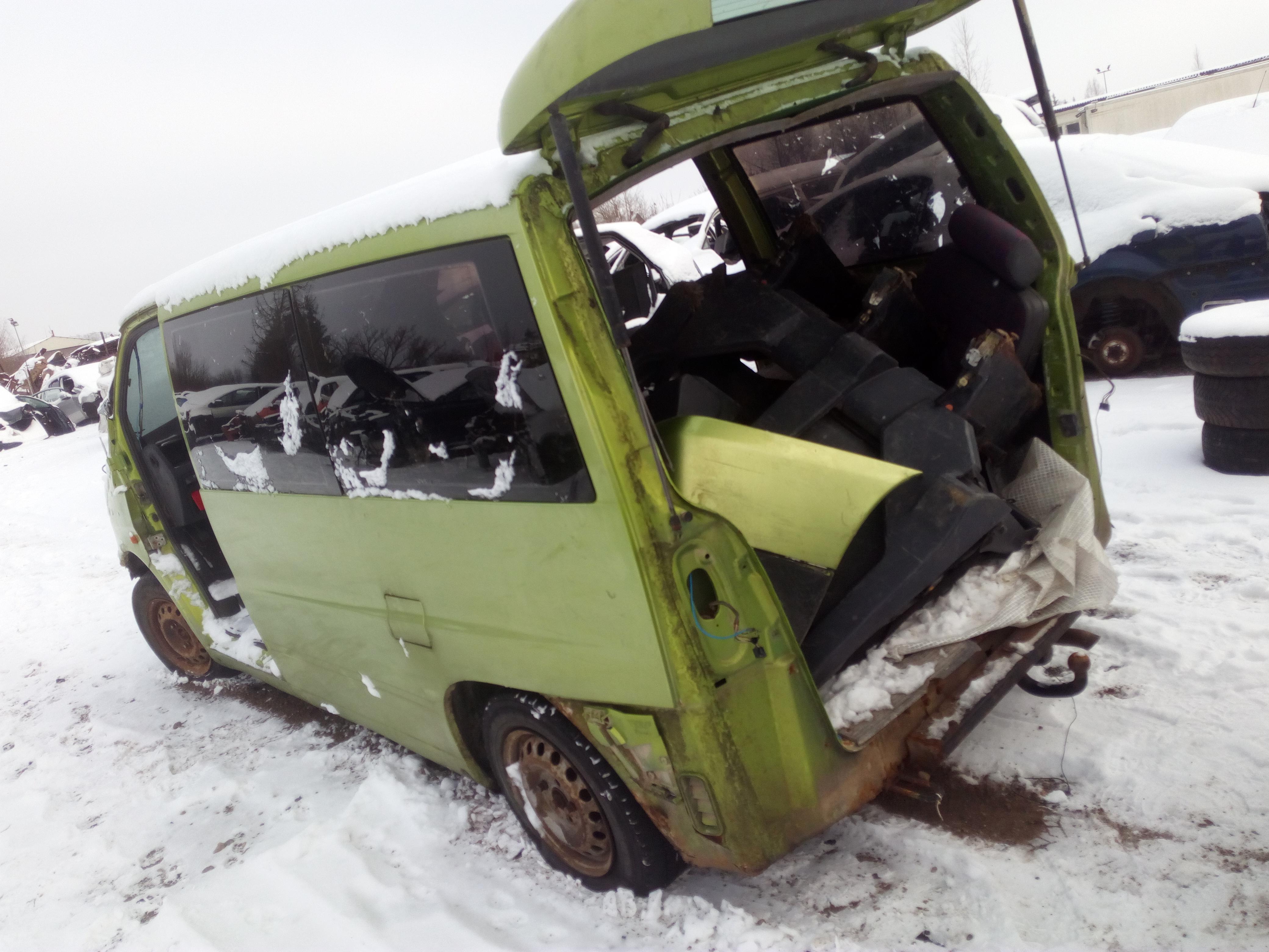 Naudotos automobilio dalys Mercedes-Benz VITO 1996 2.3 Mechaninė Krovininis mikroautobusas 4/5 d. Zalia 2018-1-23