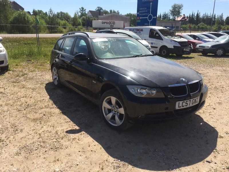 Naudotos automobiliu dallys Foto 8 BMW 3-SERIES 2007 1.8 Mechaninė Universalas 4/5 d. Juoda 2018-6-15 A3873