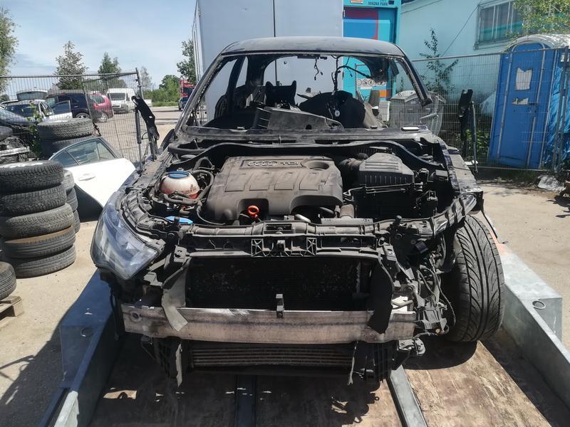 Naudotos automobilio dalys Audi A1 2011 1.6 Mechaninė Hečbekas 2/3 d. Juoda 2019-5-31